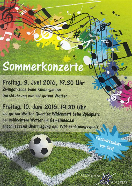 Flyer Sommerkonzerte (Medium)
